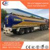 De Semi Aanhangwagen van de Tank van het aluminium voor Vervoer van de Brandbare Eetbare Olie van Vloeistoffen