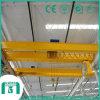 Porte-grenier à double poutre à mailles surélevé sur mesure avec palan