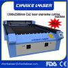 Serviços de cristal de couro plásticos de borracha da gravura do laser do CO2 do CNC de Woollens