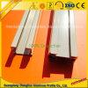 RAM 6063 6061 Aluminiumaluminiumstrangpresßling-Vorhang-Spur für Guid Schiene