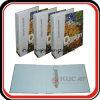 Tamaño A4 4c carpeta de archivos de impresión de cartón duro Carpeta de anillas