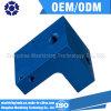 Cnc-Bauteil-Aluminiumpräzisions-maschinell bearbeitenteil mit dem Blau anodisiert