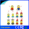 Popular 4GB de PVC de dibujos animados estilo Minion unidad Flash USB