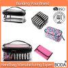 2017 de in het groot Vrouwen maken Kosmetische Zak 4 Geplaatste PCs van pvc van de Gevallen van de Make-up (bdy-1706018) waterdicht