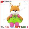 Het snoezige Gevulde Dierlijke Zachte Stuk speelgoed van de Pluche van de Eekhoorn voor de Jonge geitjes van de Baby