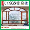 Tissu pour rideaux en aluminium personnalisé Windows de couleur enduit par poudre