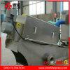 Filtre-presse de vis d'acier inoxydable pour le traitement de cambouis de graisse