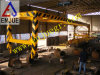 40 pieds complètement automatiques de bâti de levage d'Overheight pour décharger le conteneur plat de levage de crémaillère
