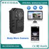 Камера несенная телом для полицейскиев, поддержка 3G/4G/WiFi полиций PC в реальном масштабе времени