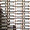 Material de construcción de la casa mosaico de vidrio interior (VMW3965)