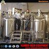 CE/ISO/UL Certificate Mash Tun Lauter Tun 10000L 500L Red Copper Brewery
