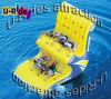 Doppia riga oscillazione gonfiabile dell'acqua del gioco di Totter dell'acqua