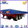 40-70 toneladas de la pared lateral del cargo del carro del alimentador de acoplado utilitario semi