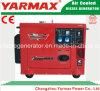 6kVA Yarmaxの携帯用および経済的な無声タイプディーゼル発電機
