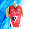 100% Polyester Man' S Sleeveless Basketball Jersey