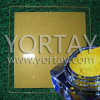 Gold Satin Luster Pearl Pigment Use in Glass Printing