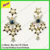 上の新しいデザイン高品質の水晶真珠はチャーミングなイヤリングをぶら下げる