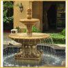 Marble découpé Water Fountain pour le jardin Outdoor (YKOF-32)