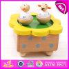 Новая выполненная на заказ деревянная коробка нот 2015, популярная миниая коробка нот оптовая, игрушка W07b003 коробки нот игрушки выдвиженческого подарка деревянная