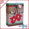 Os sacos de papel do presente Handmade do Natal dirigem da fábrica