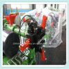 Linha de produção da extrusão do passo do pneumático da motocicleta com a tela de toque HMI do PLC