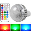 Mengs® GU10 8W RGB Dimmable LED Light mit CER RoHS, 2 Years Warranty, 16 Colour, IR Remote Control (110160023)