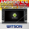 Witson Android 4.4 System Car DVD para Nissan Juke (W2-A9000N)