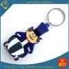 중국에서 만화 작풍에 있는 도매 고품질 주문을 받아서 만들어진 로고 PVC 열쇠 고리