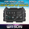 Reprodutor de DVD de WITSON Car para Honda Vezel com o Internet DVR Support da ROM WiFi 3G do chipset 1080P 8g