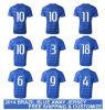 Nuovo World 2014 Cup Brasile Away Blue Copa Mundial Camisetas De Futbol Original Football T Shirts e pullover brasiliano Uniform Kit di National Replica Soccer
