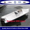 Geöffnetes Boot 850 für Sport