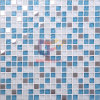 해군 Blue와 White Crystal Mix Metal Mosaic (CFC144M)