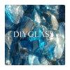 Pó de vidro de vidro de azul de cobalto