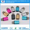 卸し売りタイプCのアダプターのアルミ合金の変換のタイプCのアダプター