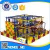 Série de expansão equipamentos de playground coberto de segurança de rede de Corda