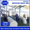Planta da fábrica de moagem de máquinas de moedura da farinha de milho