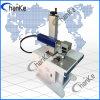 Máquina da marcação do laser da fibra de Ipg do metal para o PVC de Plastis do anel
