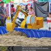 Het elektrische Stuk speelgoed van het Graafwerktuig van de Speelplaats voor Jong geitje