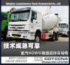 Sinotruk HOWO 6X4 10cbm 336HP Bétonnière Tank Truck
