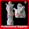 Virgin Mary con Baby Marble Sculpture Mother Maria