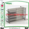 Nach Maß Metalllebensmittelgeschäft-Gondel-Speicher-Bildschirmanzeige-Regal