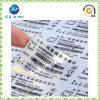 La qualité conçoivent l'étiquette en fonction du client d'autocollant de polyester (JP-S102)