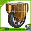 200mm Gummiband-Gummialuminiumradfof-Rad-Fußrolle