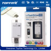 Dispositivo I-Flash HD OTG USB Flash Drive U Disk para iPhone 5 5s 6 Plus iPad Mini PC Ios