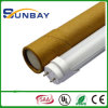 Ce RoHS T8 LED Tube 120lm/W 5 Years Warranty met Factory Price Made in China