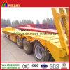 Низкое для тяжелого режима работы погрузчика грузового прицепа со съемным на изогнутой стойке
