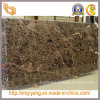 Dark Polished Emperador Brown Marble Slab para Hotel Lobby/Bathroom/Kitchen