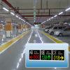 Guiado de aparcamientos disponibles mensaje pantalla LED pantalla LED pantalla