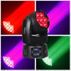 Mini 7*12W Zoom LED moviendo la cabeza de la luz de lámpara LED