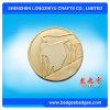 Moneta di sfida del metallo placcata oro antico dalla Cina